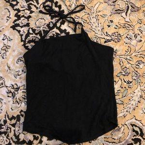 Vintage Gap black halter top